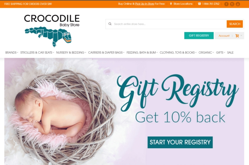 Crocodile Baby Store